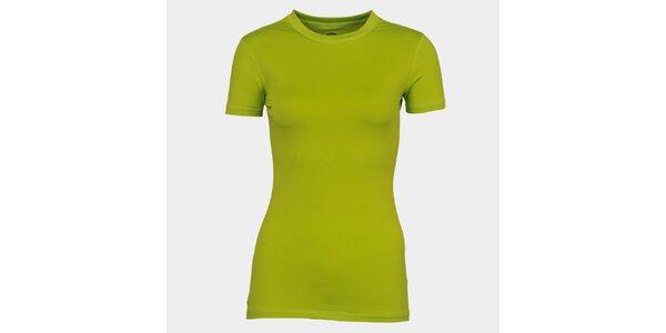 Dámské světle zelené tričko s krátkým rukávem Sweep