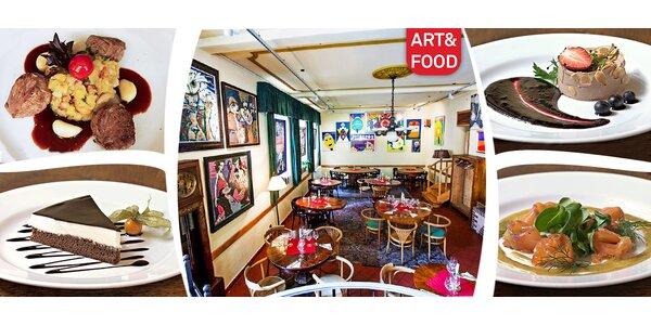 3chodové degu menu pro dva v ART&FOOD Had