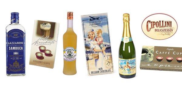 Luxusní italské alkoholové balíčky od Cipollini Delikatessen
