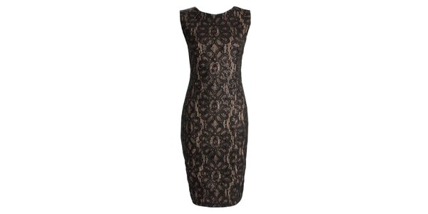 Dámské černé šaty s flitry CeMe London