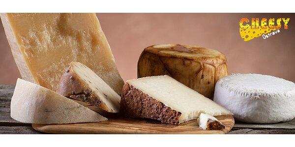 200 g vybraného sýra z Cheesy
