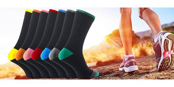 7 párů ponožek na každý den v týdnu