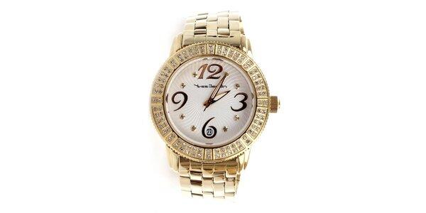 Dámské hodinky zlaté barvy Yves Bertelin