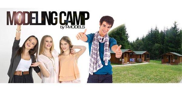 Skvělý letní tábor plný modelingu a herectví
