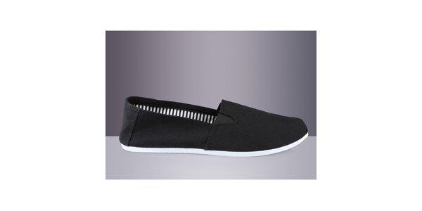 Pánské černé textilní boty DEK