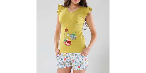 Dámské pyžamo s jahůdkou Fagon