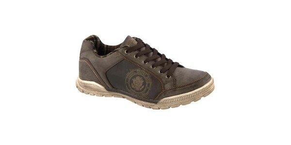Pánské šněrovací boty Crosby