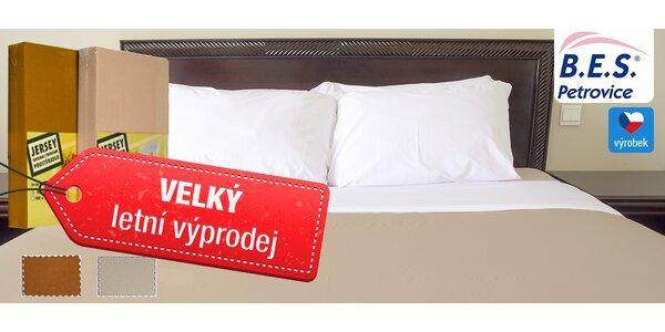 Hebká a měkká česká prostěradla ze 100% bavlny