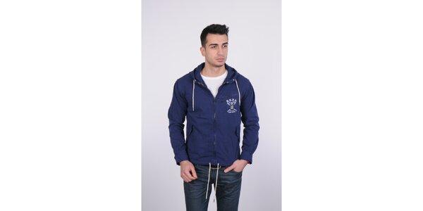 Pánská tmavě modrá jarní bunda Giorgio di Mare