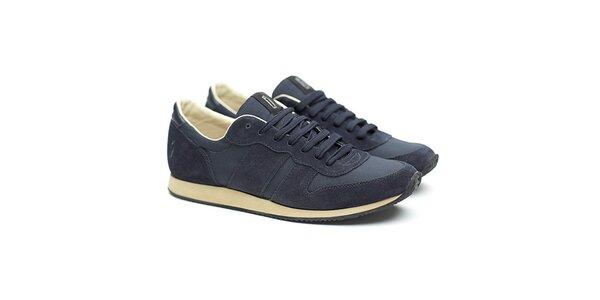 Pánské modré semišové tenisky Shoe the Bear