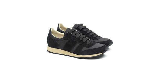 Dámské černé sportovní tenisky Shoe the Bear