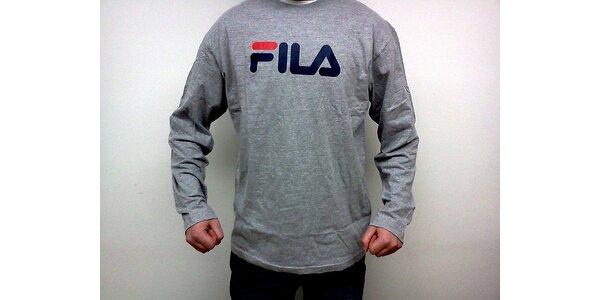 Sportovní triko Fila pro muže (Fila pánské tričko šedé, velikost XXL)