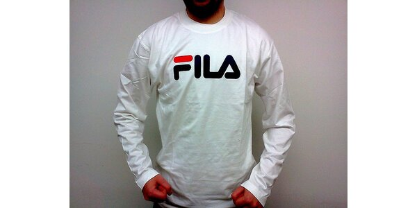 Sportovní triko Fila pro muže (Fila pánské tričko bílé, velikost XXL)