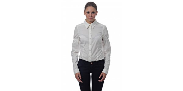e457d5d8c62 Dámská bílá košile Miss Sixty