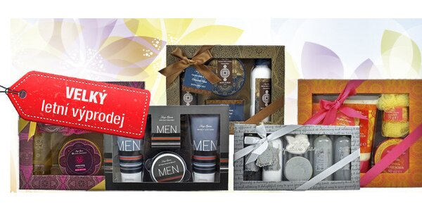 Dárkové balíčky kosmetiky Soap Opera
