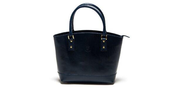 Dámská tmavě modrá kabelka Carla Ferreri