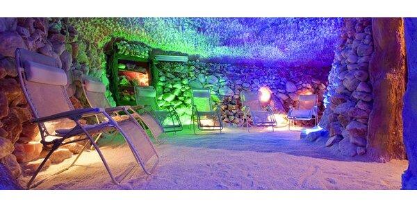 160 Kč za dva vstupy do překrásné solné jeskyně na Letné.