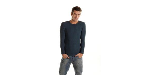 Pánské tmavě modré podvlékací tričko Gianfranco Ferré s dlouhým rukávem
