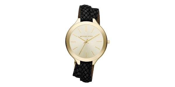 Dámské minimalistické hodinky s originálním páskem Michael Kors