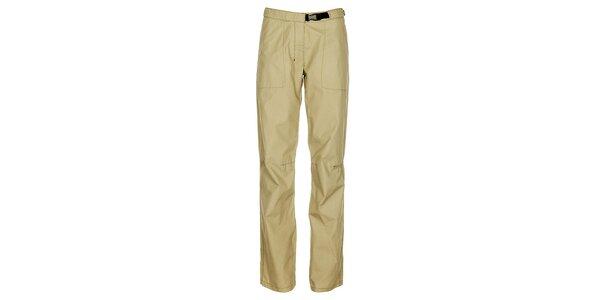 Dámské světle béžové kalhoty Hannah