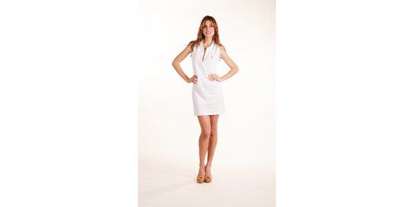 Dámské bílé plážové šaty Gianfranco Ferré