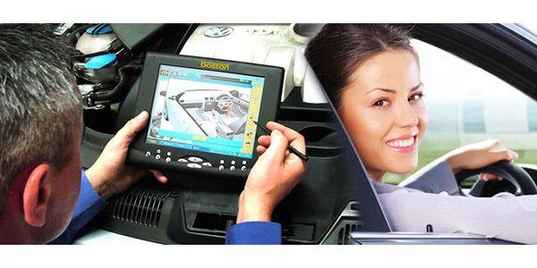 Kontrola řídící jednotky vašeho auta