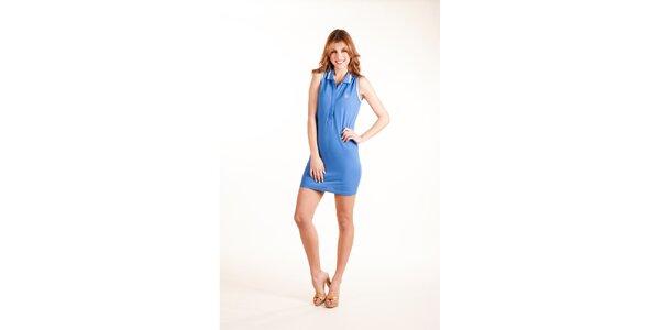 Dámské světle modré plážové šaty Gianfranco Ferré