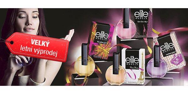 Výprodej 4 vůní Elite Models – světové metropole