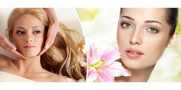 Luxusní 120minutové kosmetické ošetření