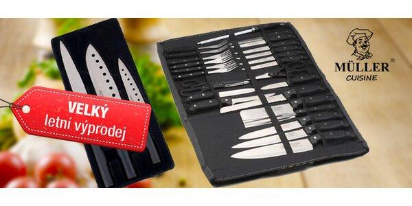 Výprodej! Ručně ostřené sady nožů Müller Cuisine