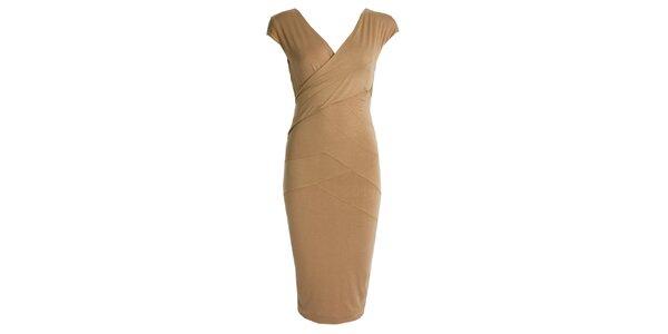 Dámské šaty se zavinovacím efektem JDC London 76c87f2161