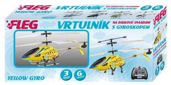 FLEG tříkánálový vrtulník s GYROSKOPEM létá nahoru/dolů, dopředu/dozadu,…