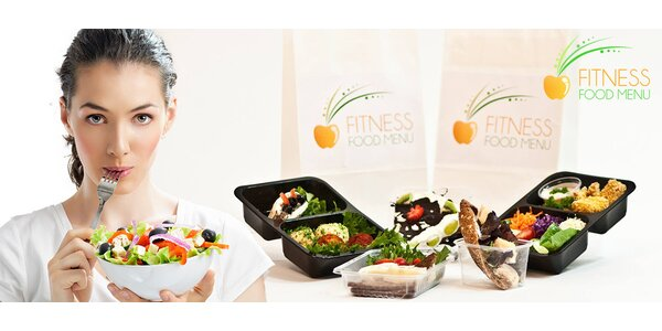 Až 20denní Fitness Food Menu včetně dopravy