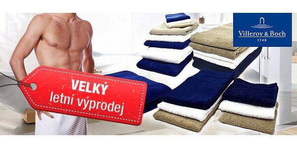 Villeroy&Boch set 4 ručníků modrý