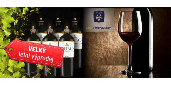 Šest červených vín ze Sicílie