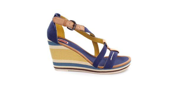 Dámské vícebarevné sandály na klíně Levi's