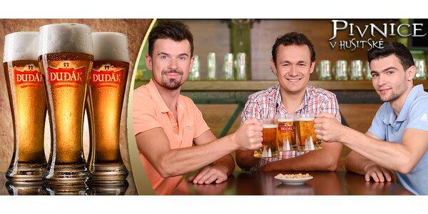 3 půllitry nefiltrovaného piva Sklepák za 49 Kč!