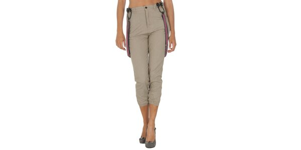 Dámské kalhoty s kšandami Tommy Hilfiger