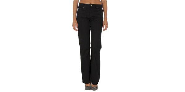 Dámské černé kalhoty Tommy Hilfiger
