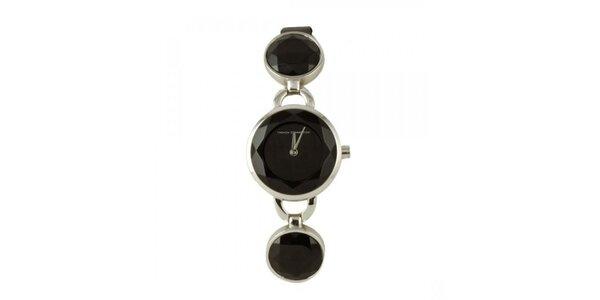 Dámské stylové hodinky s krystaly FCUK