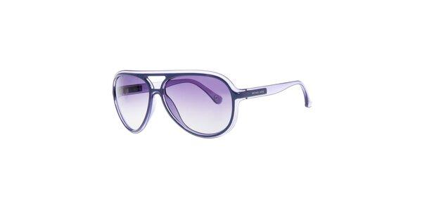 Dámské sluneční brýle s fialovými skly Michael Kors