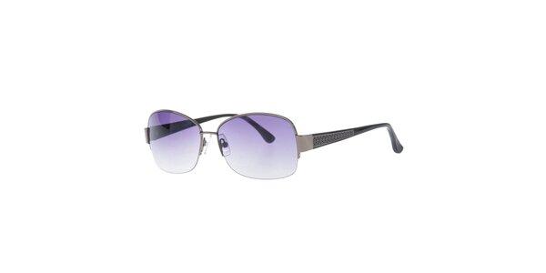 Dámské sluneční brýle se vzorovanými stranicemi Michael Kors