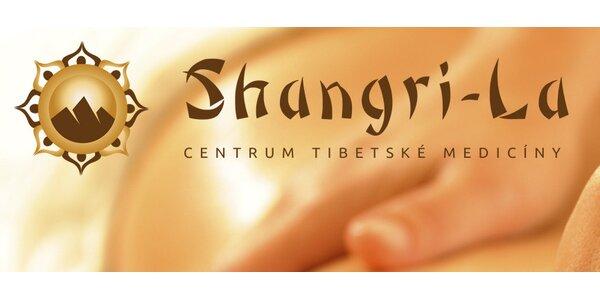 60minutová tibetská hluboká masáž a další procedury