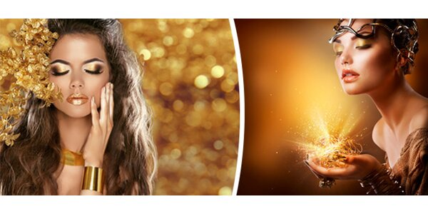 Luxusní kosmetické ošetření pleti s tekutým zlatem – arganovým olejem