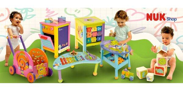 30% sleva na originální dřevěné hračky Boikido
