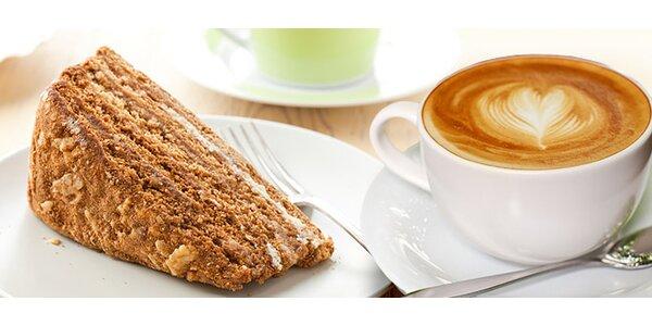 Italské kávy a dezerty pro dva