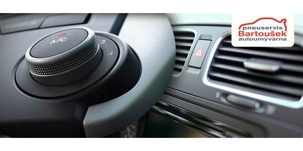 Kompletní servis klimatizace pro osobní vozy (60 min)
