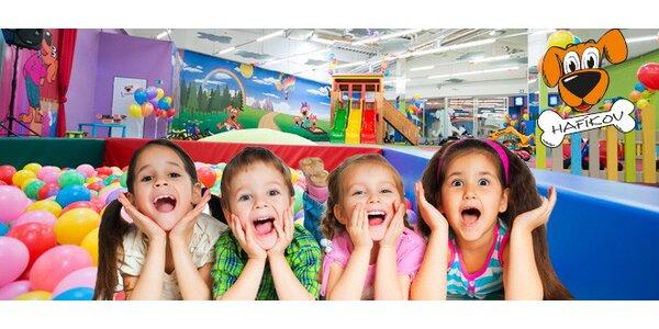 Celý den her a zábavy v dětském centru Hafíkov