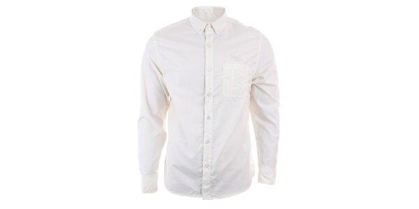 Pánská světlá košile s dlouhým rukávem Timeout