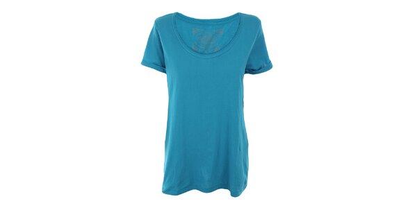 Dámské modré tričko Timeout